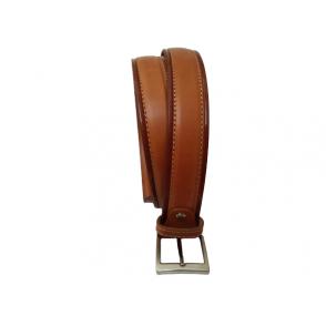 Cinturón de piel auténtica para hombre.