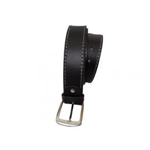 cinturón de cuero grueso para hombre.